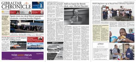 Gibraltar Chronicle – 10 October 2019
