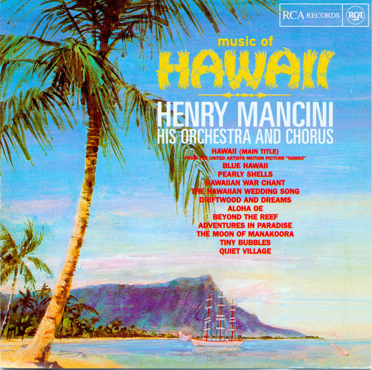 Henry Mancini - Music of Hawaii   1966  (2002)