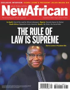 New African - April 2019
