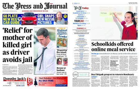 The Press and Journal Moray – August 22, 2018