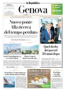 la Repubblica Genova - 10 Dicembre 2019