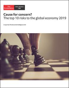 The Economist (Intelligence Unit) - Cause for concern? The top 10 risks to the global economy (2019)