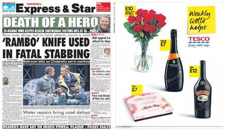 Express and Star Sandwell Edition – February 08, 2018