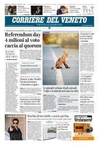 Corriere del Veneto Vicenza e Bassano - 22 Ottobre 2017