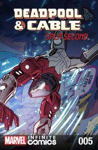 Deadpool  Cable - Split Second Infinite Comic 005 2016 digital