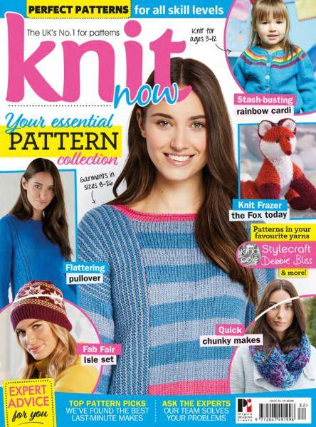 Knit Now - Issue 82 - January 2018