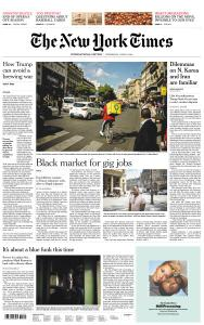 International New York Times - 19 June 2019