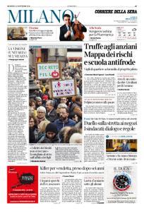 Corriere della Sera Milano – 11 novembre 2018