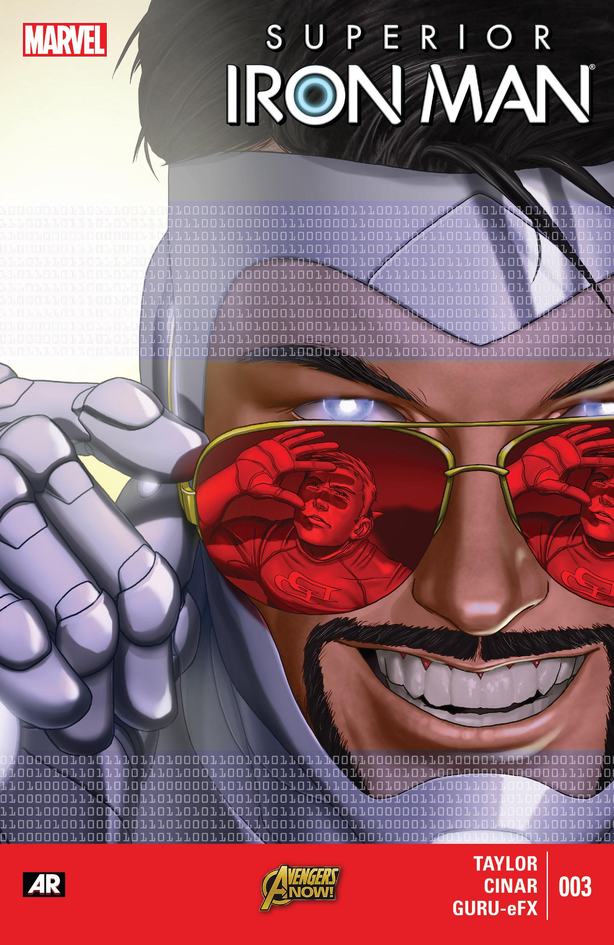 Superior Iron Man Vol 1 No 5 Apr 2015 SCAN Comic eBook