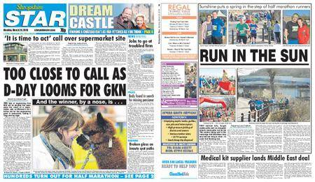 Shropshire Star Shrewsbury Edition – March 26, 2018