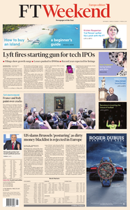 Financial Times Europe – 2 March 2019