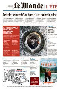 Le Monde du Mardi 13 Août 2019