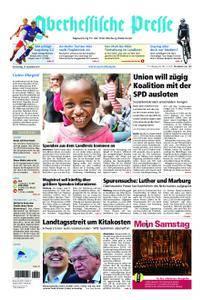 Oberhessische Presse Marburg/Ostkreis - 14. Dezember 2017