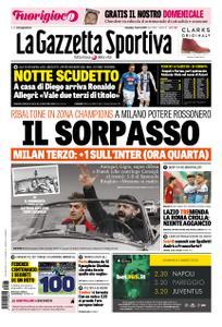 La Gazzetta dello Sport Roma – 03 marzo 2019