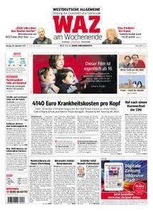 WAZ Westdeutsche Allgemeine Zeitung Oberhausen-Sterkrade - 30. September 2017