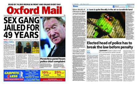 Oxford Mail – February 14, 2020