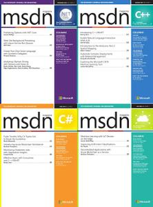 MSDN Magazine 2018 Full Year Collection