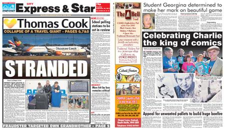 Express and Star City Edition – September 24, 2019