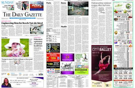 The Daily Gazette – July 15, 2018