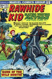 Rawhide Kid v1 118 1974 Gambit