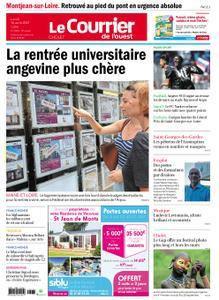 Le Courrier de l'Ouest Cholet – 16 août 2021