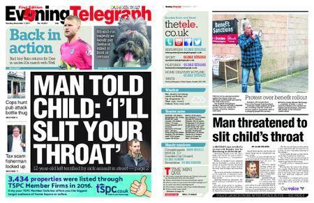 Evening Telegraph First Edition – November 07, 2017