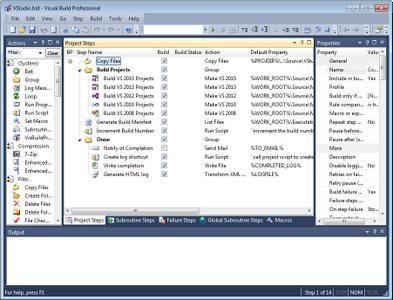 Visual Build Pro 9.2 (x86)