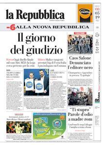 la Repubblica – 08 maggio 2019