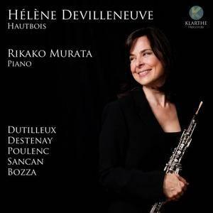 Hélène Devilleneuve & Rikako Murata - Musique Française pour hautbois (2017)