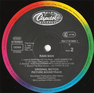 VA - Rain Man OST (Capitol 064-7 91866 1) (EU 1989) (Vinyl 24-96 & 16-44.1)