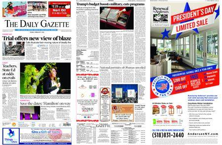 The Daily Gazette – February 13, 2018