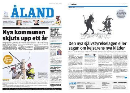 Ålandstidningen – 20 april 2018