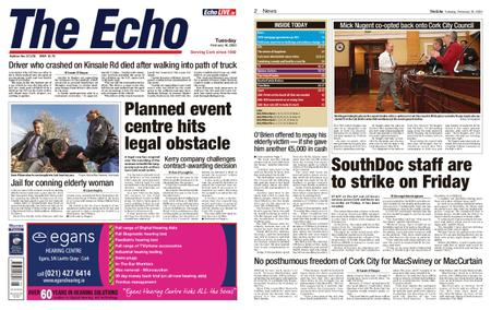 Evening Echo – February 18, 2020