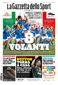La Gazzetta dello Sport Roma – 26 giugno 2019