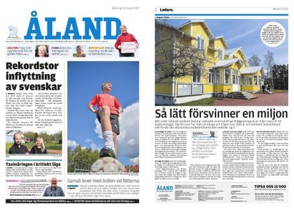 Ålandstidningen – 18 maj 2020