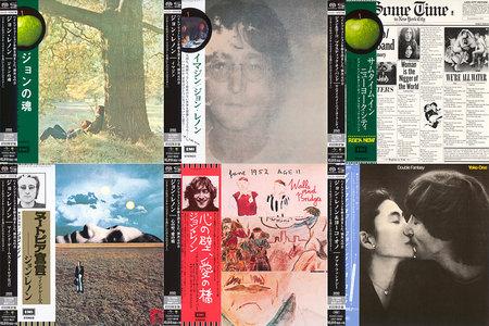 John Lennon - Japanese SHM-SACD Reissue Series 2014 (7x SACD, 1970-1980) [PS3 ISO + Hi-Res FLAC]