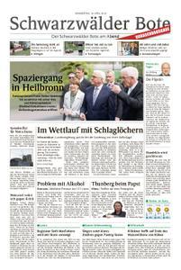 Schwarzwälder Bote Blumberg - 18. April 2019