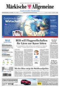 Märkische Allgemeine Luckenwalder Rundschau - 01. Juni 2019