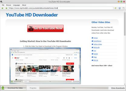 YouTube HD Downloader v1.1.1