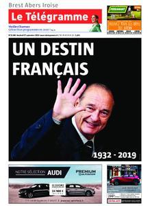Le Télégramme Brest Abers Iroise – 27 septembre 2019