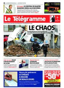 Le Télégramme Landerneau - Lesneven – 17 juillet 2021