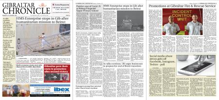 Gibraltar Chronicle – 12 October 2020