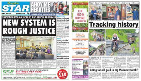 Shropshire Star Shrewsbury Edition – June 04, 2018