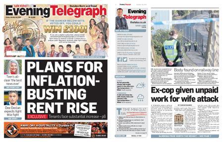 Evening Telegraph First Edition – October 18, 2019