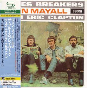 John Mayall & The Bluesbreakers - Blues Breakers With Eric Clapton (1966) [Japan, Deluxe Edition] Repost