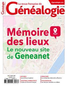 La Revue française de Généalogie - Juin-Juillet 2020