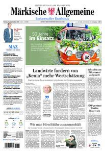 Märkische Allgemeine Luckenwalder Rundschau - 30. September 2019