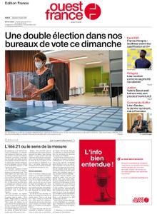 Ouest-France Édition France – 19 juin 2021