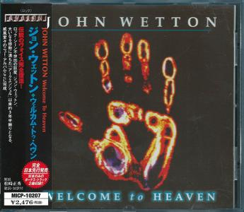 John Wetton - Welcome To Heaven (2000) {Japan 1st Press} Repost / New Rip
