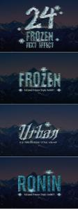 CreativeMarket - 24 Frozen and Ice Text Effect - 1118495
